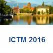 ICTM 2016